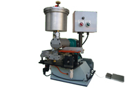 IY-322 Zipper Cementing Machine - Rubber Cement